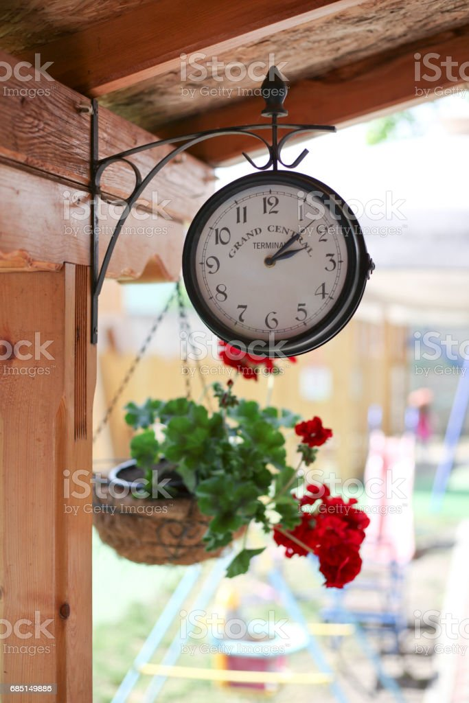 Garden watch royalty-free stock photo