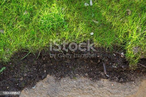 garden soil layers