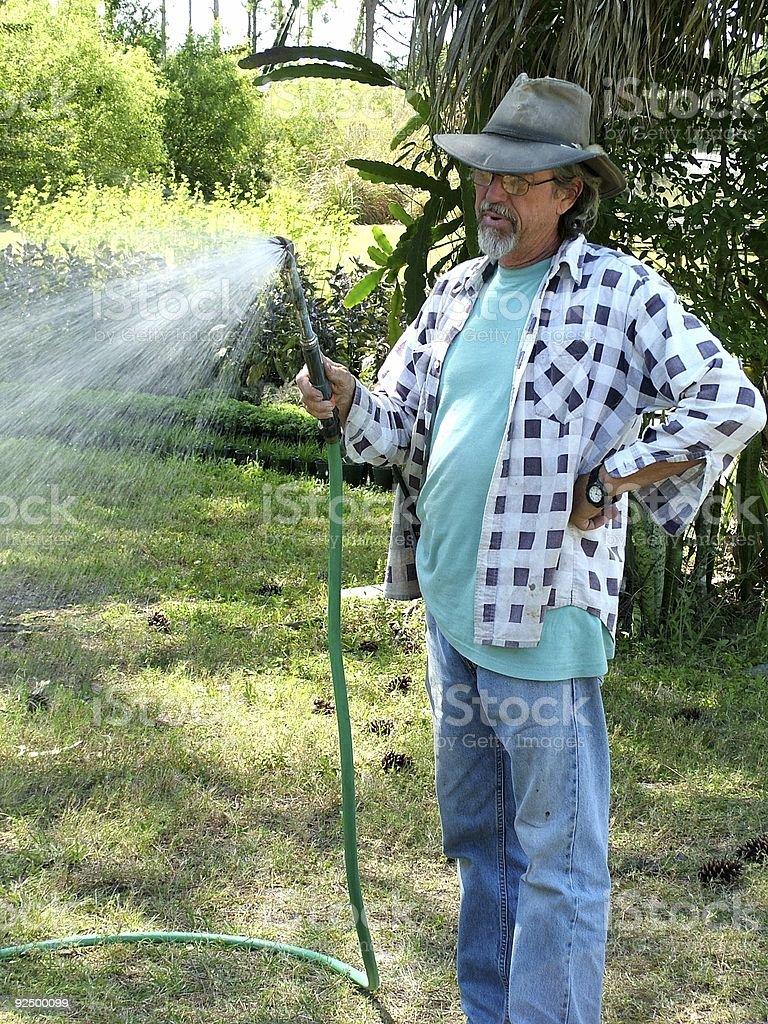 Gardener 4 royalty-free stock photo
