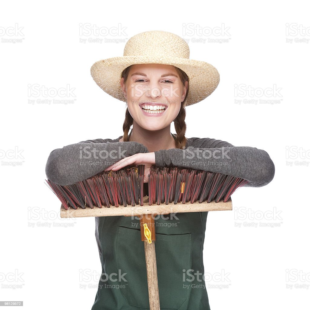 Gardener royalty-free stock photo