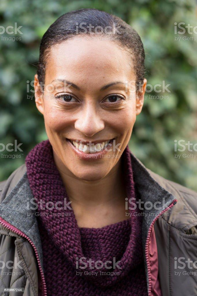 Gardener Portrait stock photo