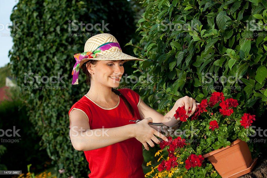 Gärtner Frau – Foto