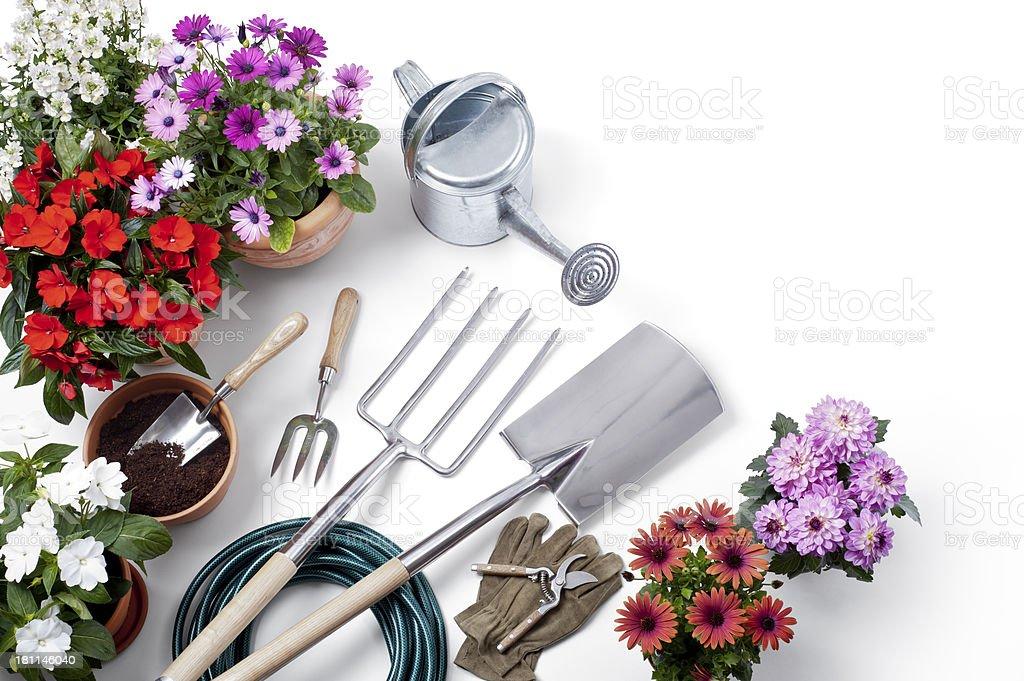 Gardening Equipment stock photo