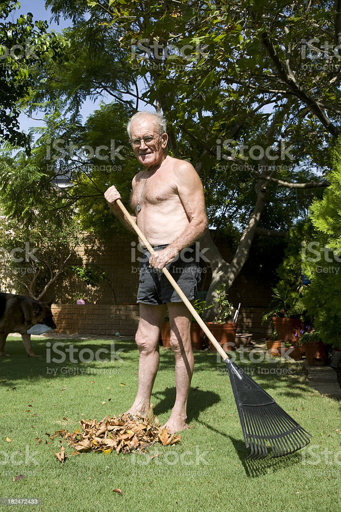 Gardening Man royalty-free stock photo