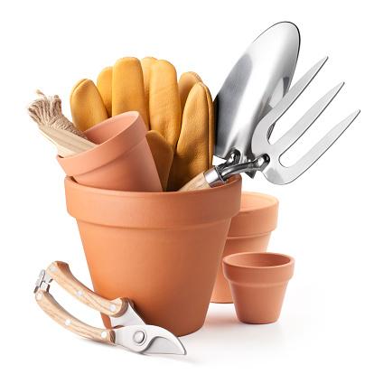 Gardening. Garden tools.