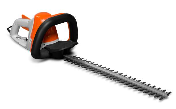 Gardening. Hedge Trimmer hedge clippers stock pictures, royalty-free photos & images