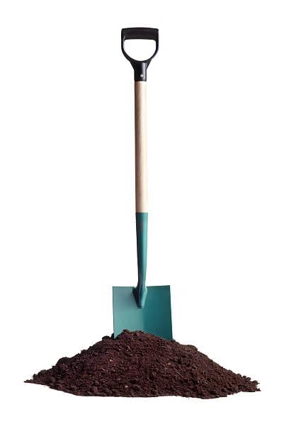 gardening: soil and spade - 鏟 個照片及圖片檔
