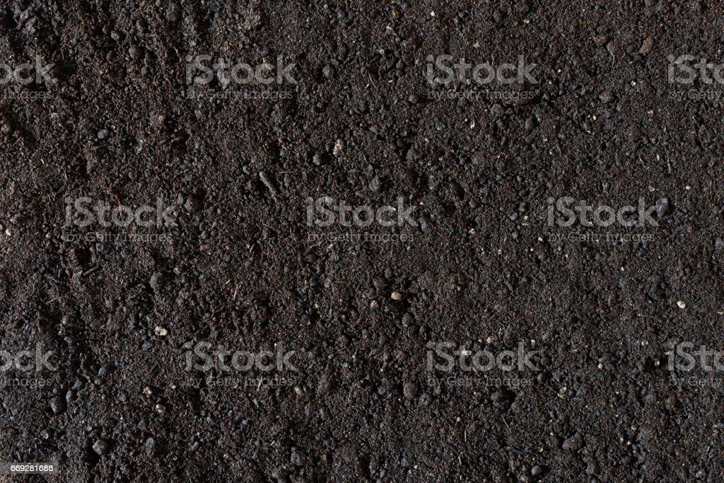 Gardening Soil stock photo