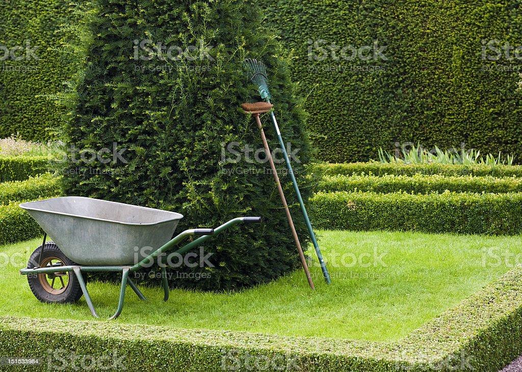 Outils De Jardinage En Anglais Jardin à La Française – Photos et ...