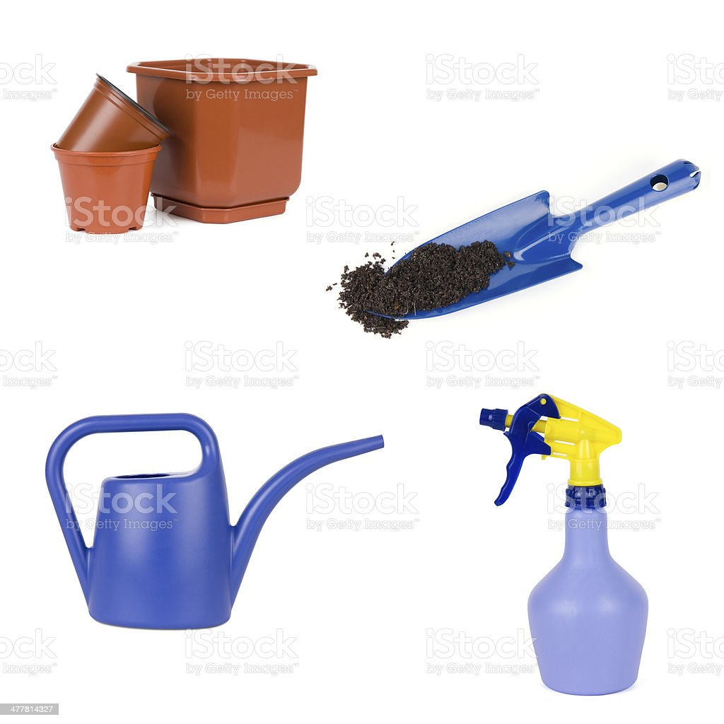 Gardening tools royalty-free stock photo
