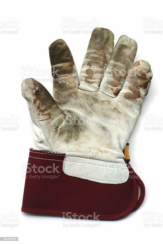 gardening / work gloves royalty-free stock photo