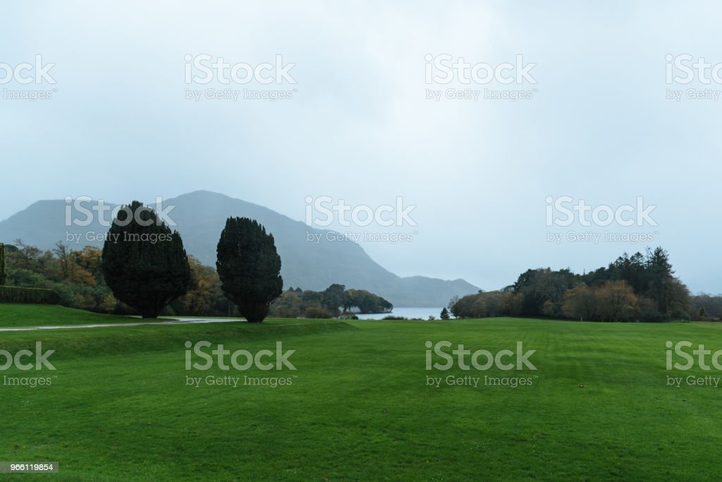 Gardens of Muckross House  in Ireland - Royalty-free Beauty In Nature Stock Photo