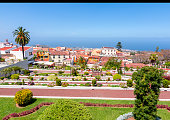 istock Gardens of the Marquesado de la Quinta Roja garden in La Orotava, Tenerife, Canary islands, Spain 1196519316