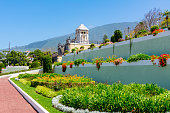 istock Gardens of the Marquesado de la Quinta Roja garden in La Orotava, Tenerife, Canary islands, Spain 1290020491