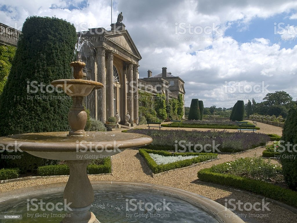 Gardens royalty-free stock photo
