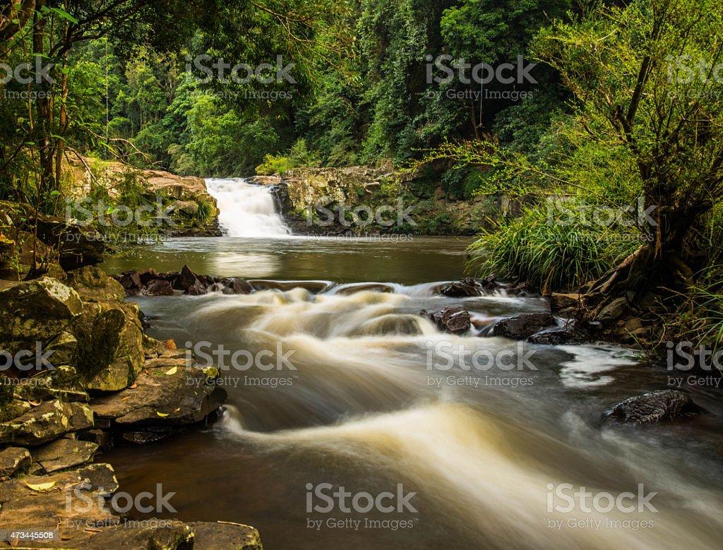 Gardiners falls stock photo