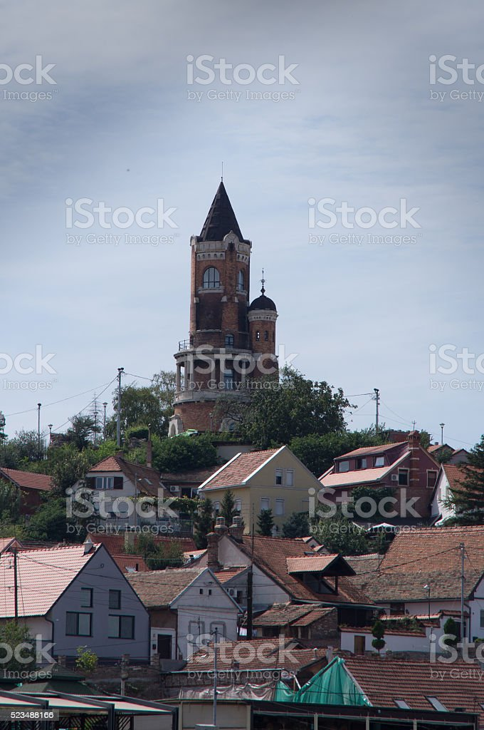 Gardos Tower stock photo