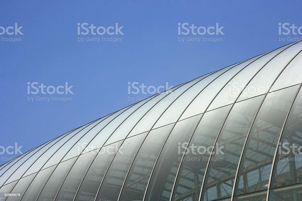 Gare Centrale, Strasbourg  Architectural Dome Stock Photo