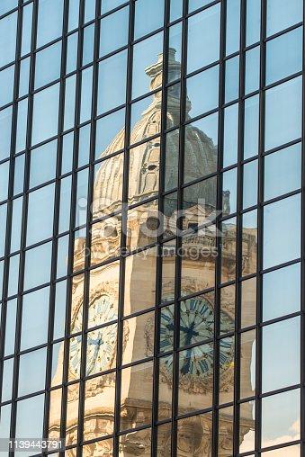 The famous clock of the Gare de Lyon train station in Paris