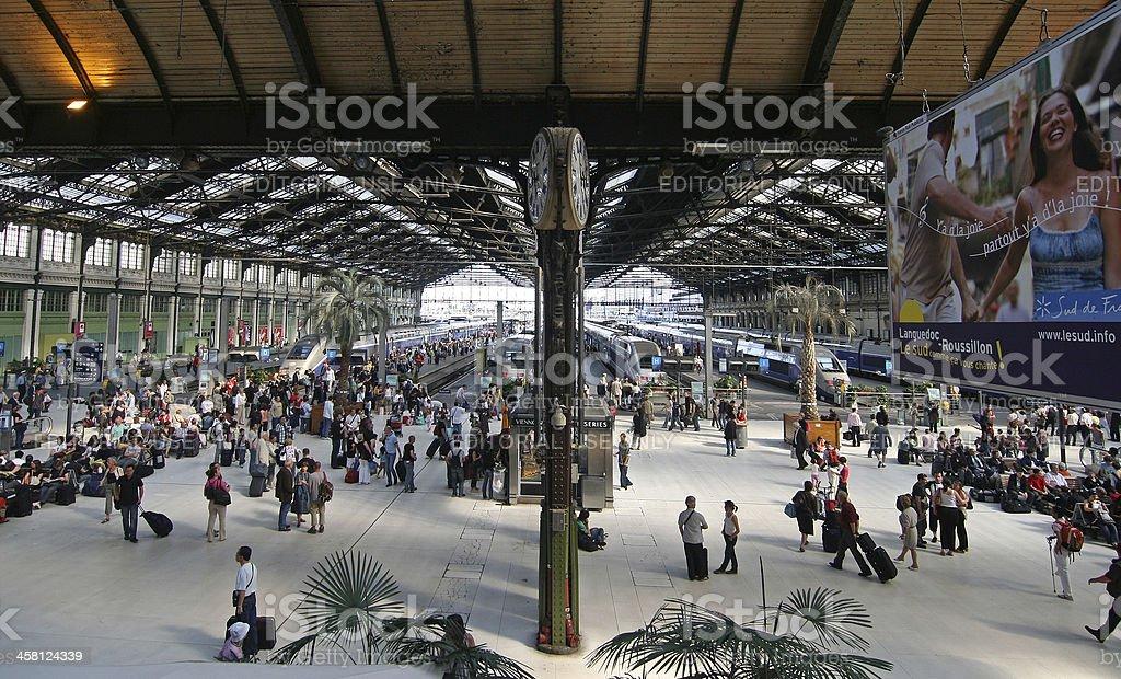 Gare de Lyon stock photo