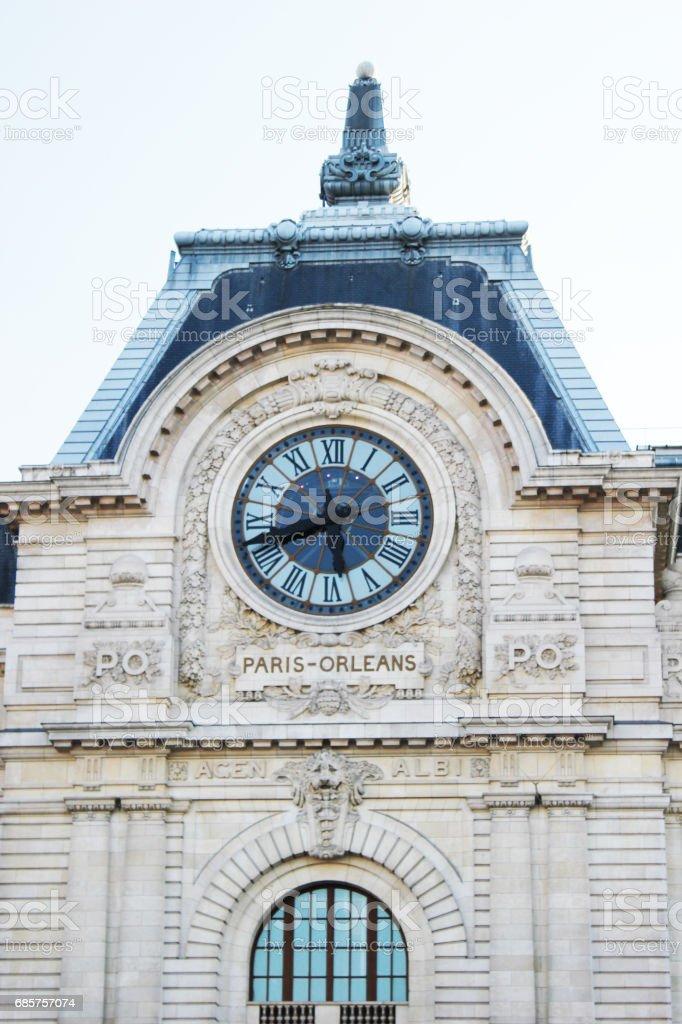 Gare D'Orsay zbiór zdjęć royalty-free