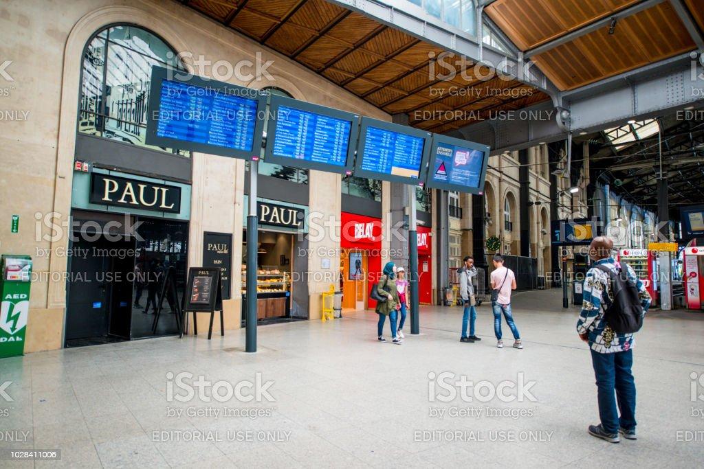 Gare Saint Lazare In Paris Stock Photo Download Image Now Istock