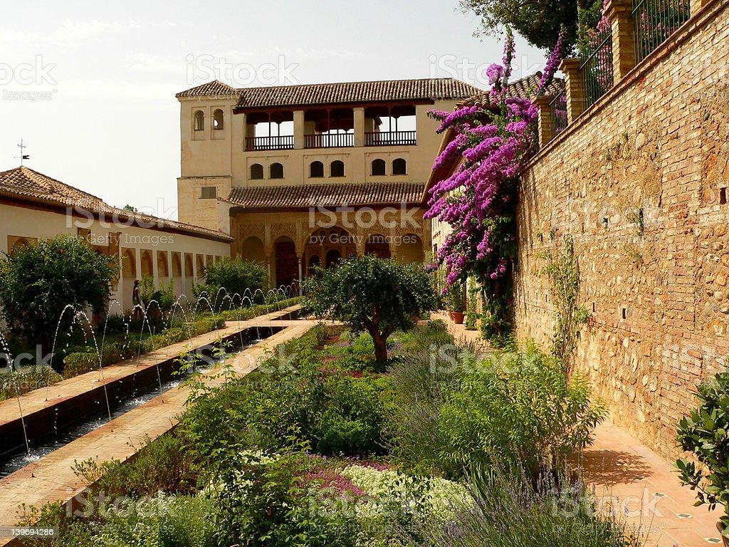 Garen of Alhambra royalty-free stock photo