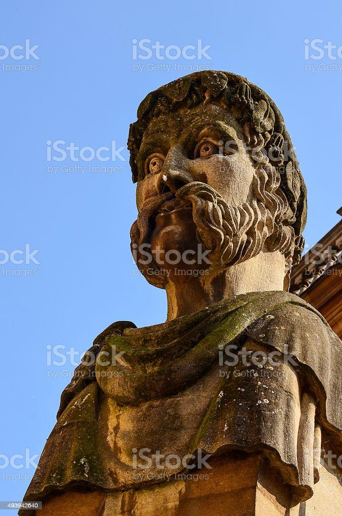 Gargoyle in Oxford stock photo