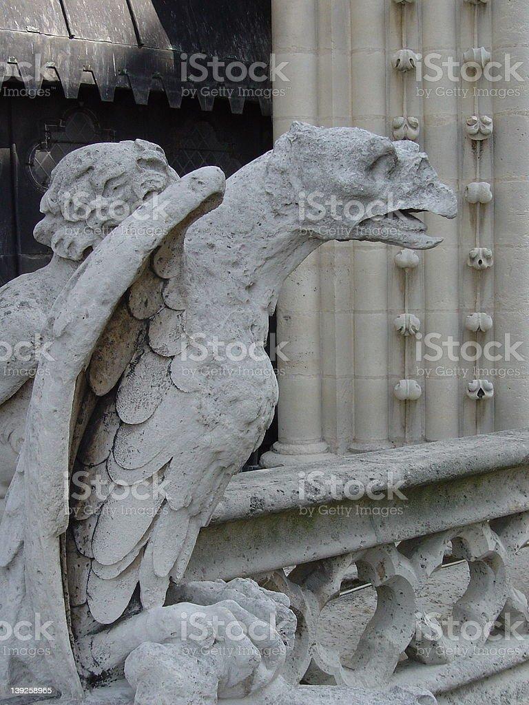 Gargoyle royalty-free stock photo