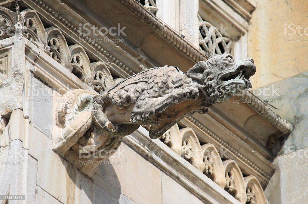 Gargoyle stock photo