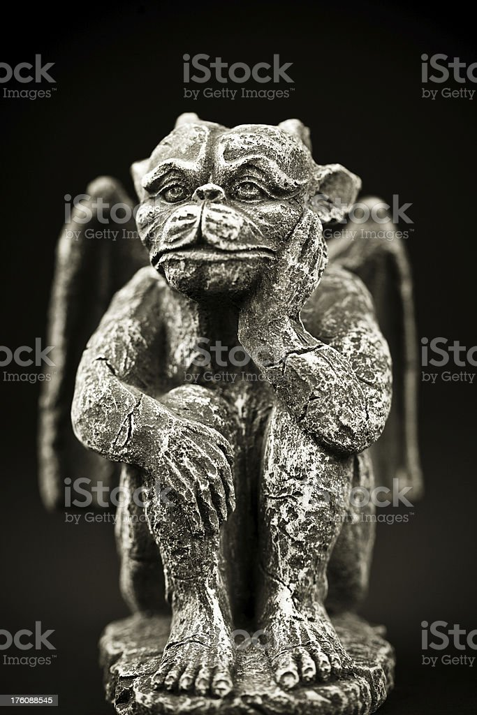 Gargoyle Statue stock photo