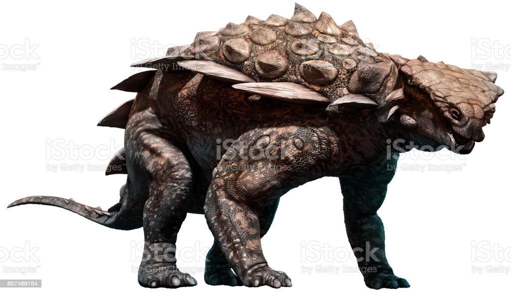 Gargoyleosaurus - foto de acervo