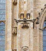 Stunning gargoyle in the Llotja de la Seda  (Medieval Silk Exchange), a late Valencian Gothic-style civil building in Valencia, Spain.