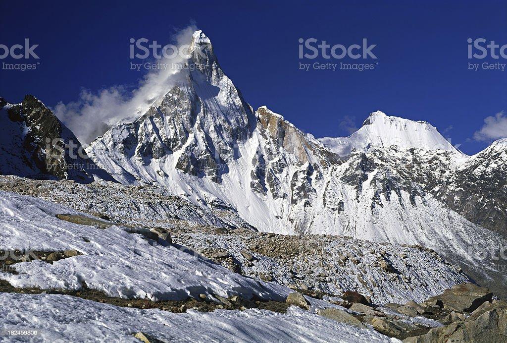 Garhwalu Himalayas in India. royalty-free stock photo