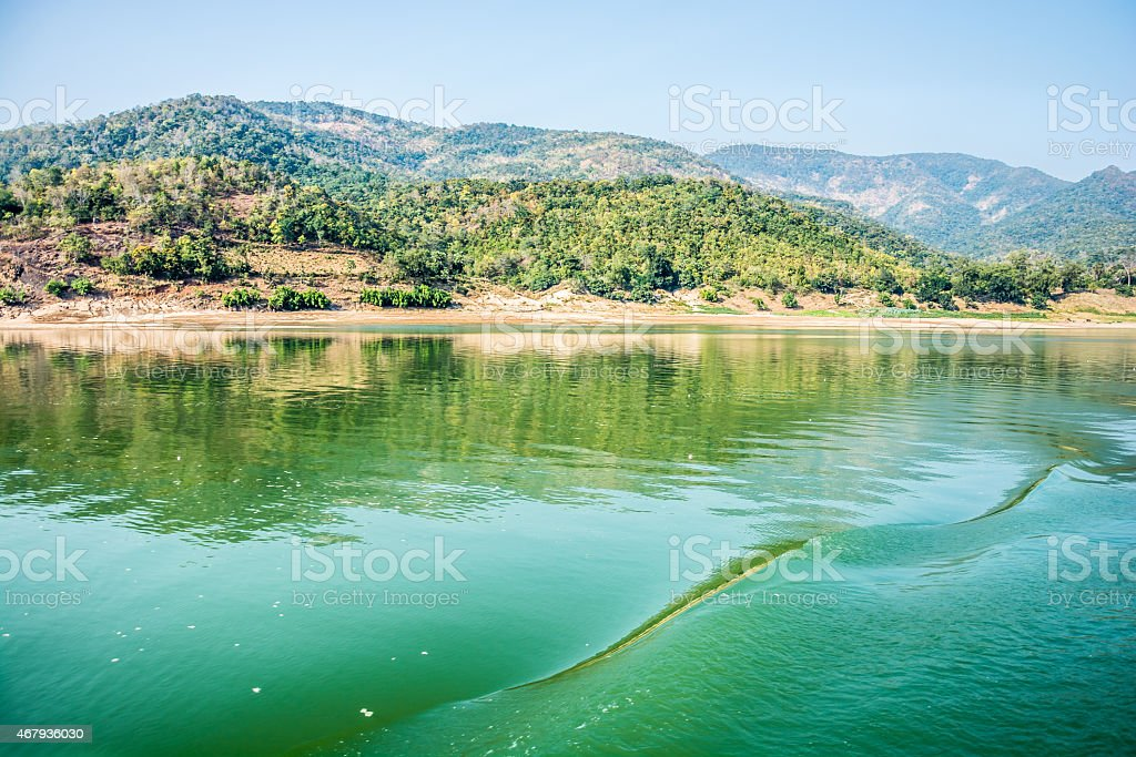 Garhwalu Mountains stock photo