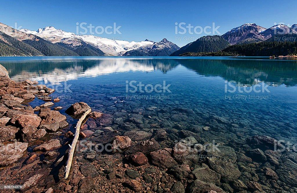 Garibaldi Lake in summer, BC,Canada stock photo