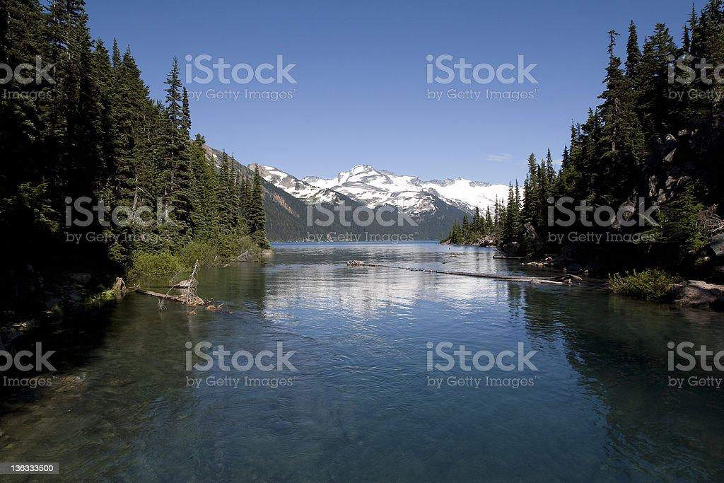Garibaldi Lake royalty-free stock photo