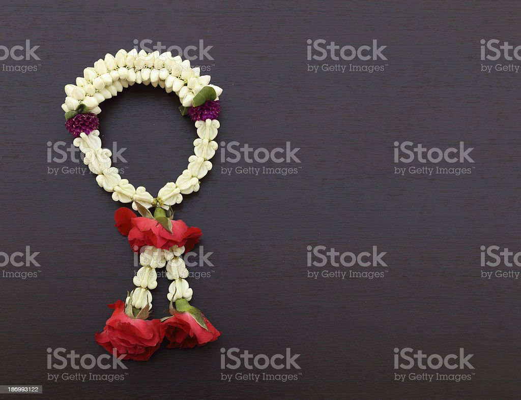 Garland Of Jasmine Flower Stock Photo More Pictures Of Art And