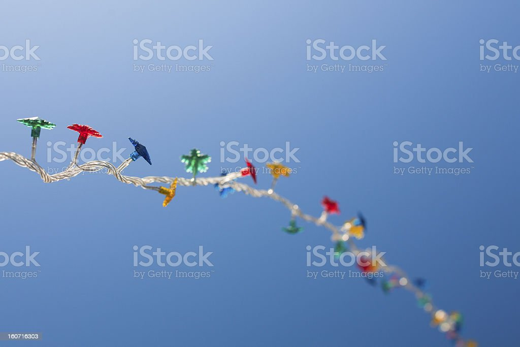 Garland royalty-free stock photo