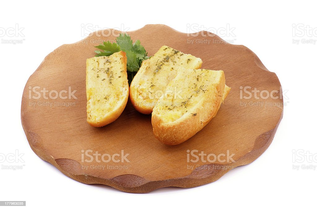 Garlic and Herb Bread royalty-free stock photo