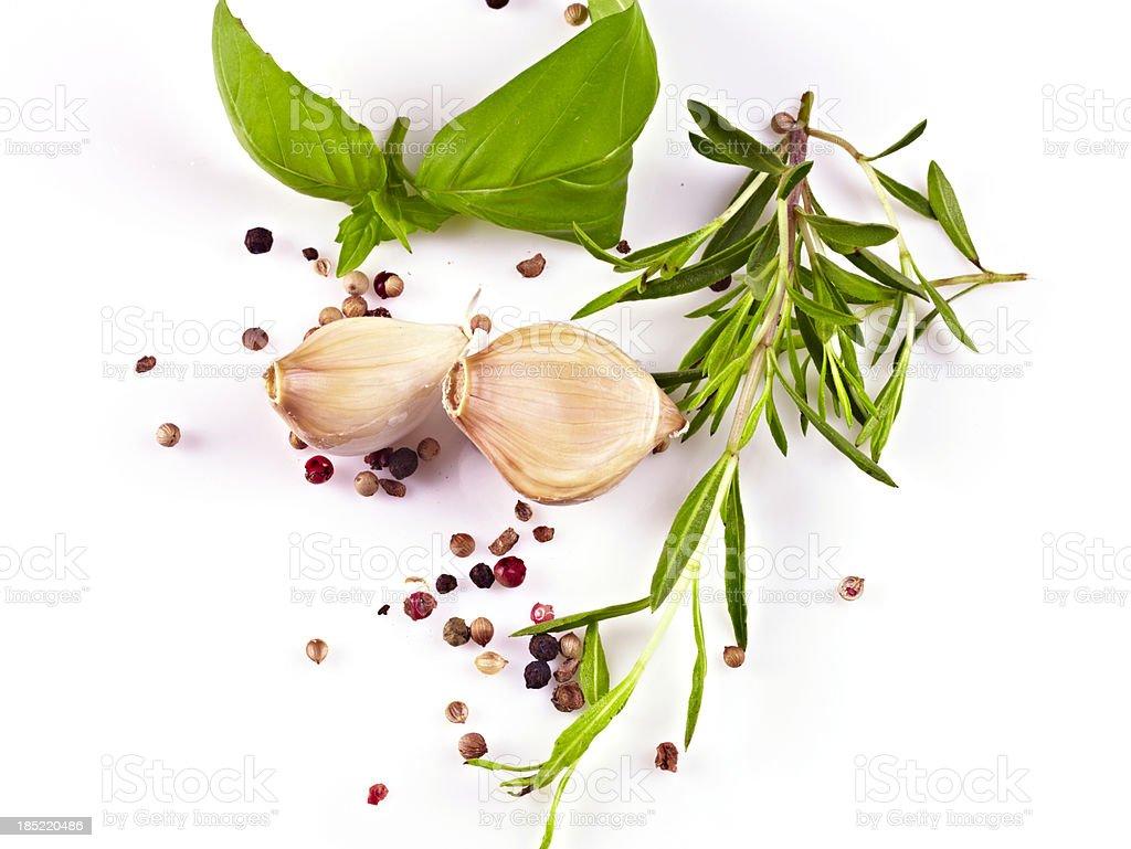 Garlic and Herb royalty-free stock photo