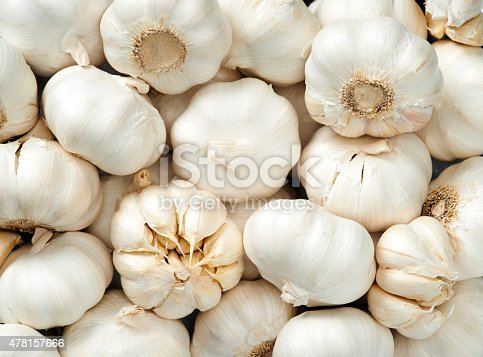 istock Garlic background 478157666