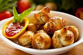 istock Garlic Bread Knots 133875183