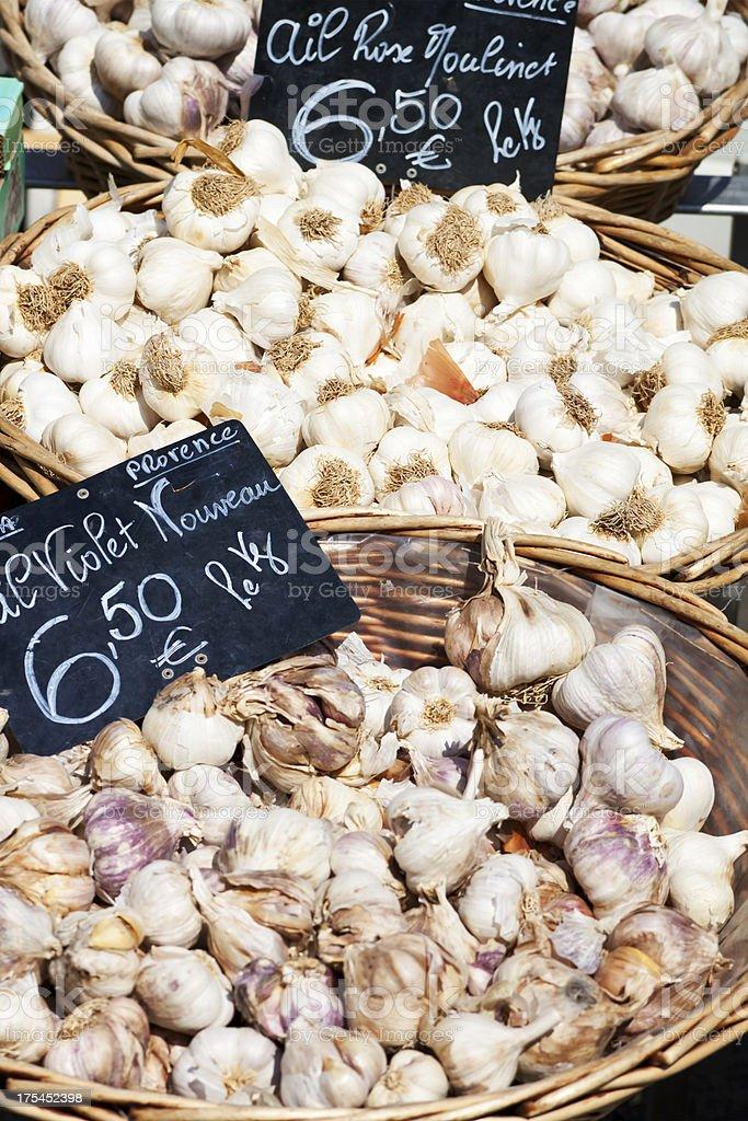 Garlic de Provence stock photo