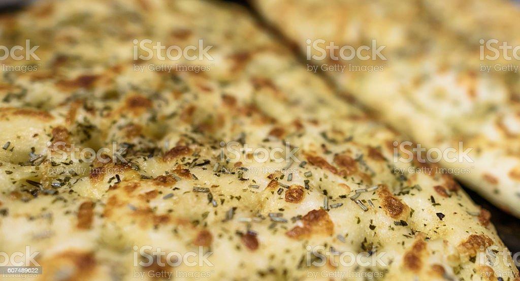 Garlic Herb Bread stock photo