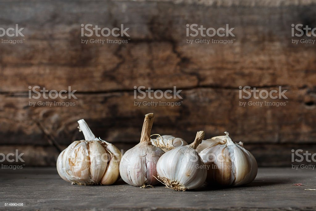 Garlics - foto de stock