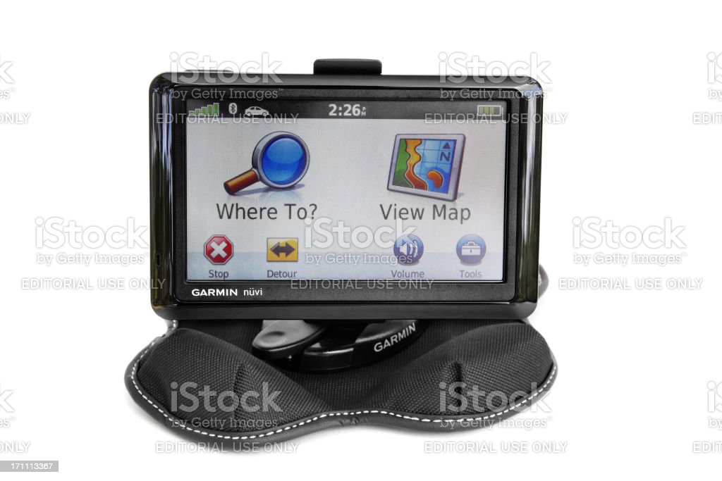Garmin Nuvi royalty-free stock photo