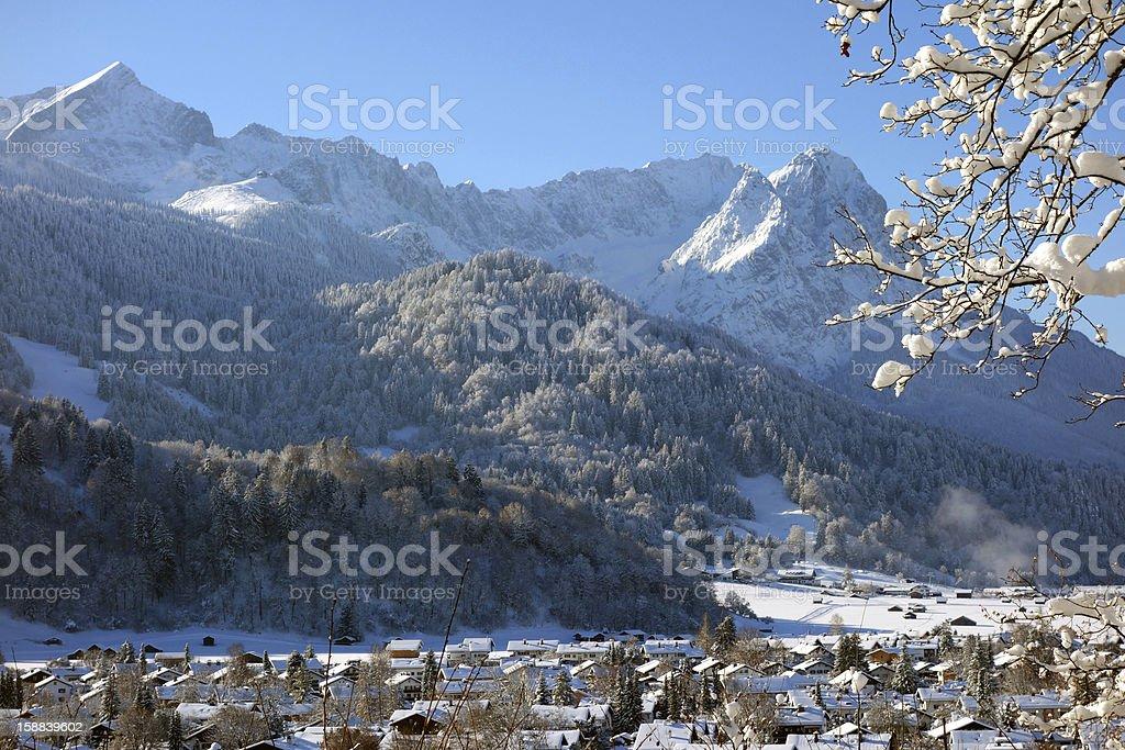 Garmisch-Partenkirchen, Germany royalty-free stock photo