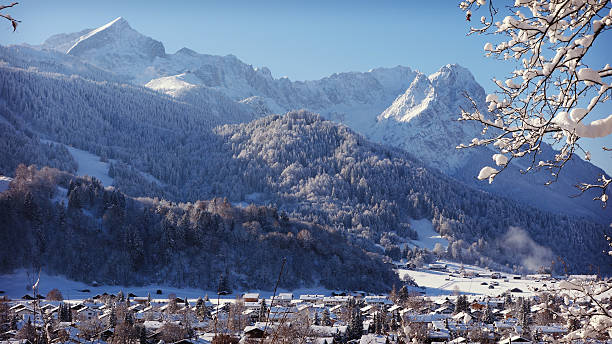 Garmisch-Partenkirchen, Germany stock photo