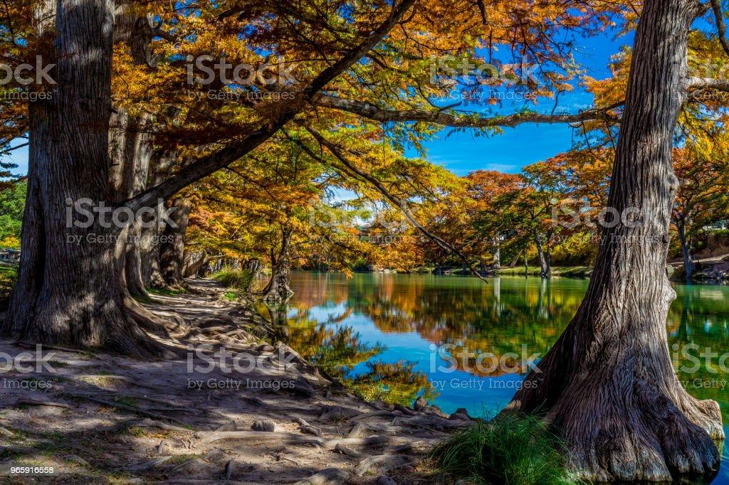 Garner State Park, Texas - Royalty-free Autumn Stock Photo